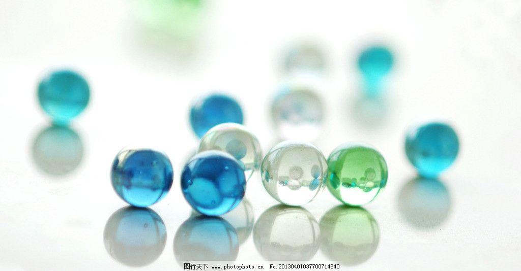 彩色玻璃珠图片