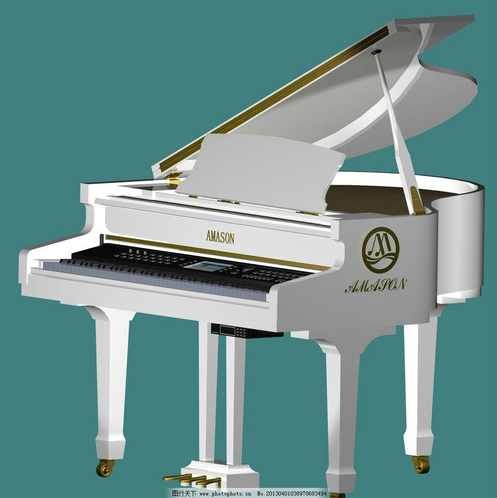 三角 钢琴图片