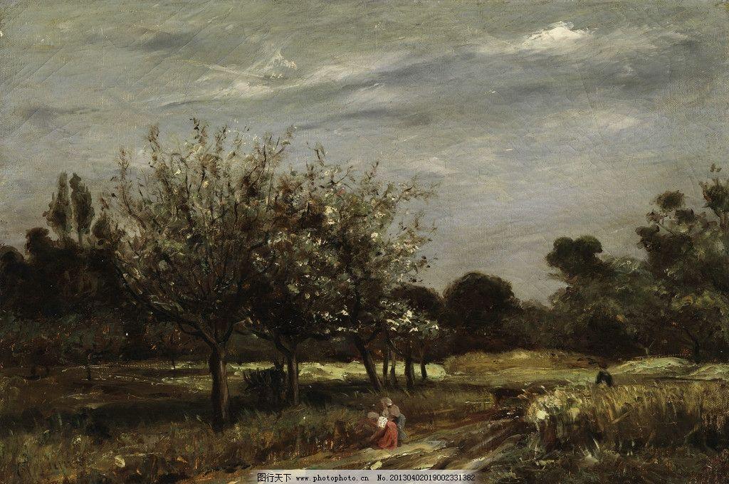 油画风景 风景油画 油画