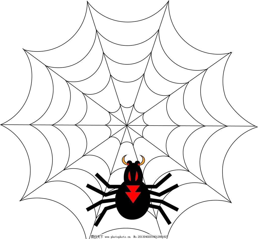 幼儿园绘画蜘蛛