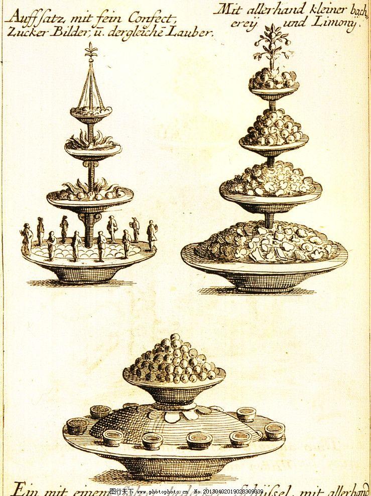 欧式花坛图片_绘画书法