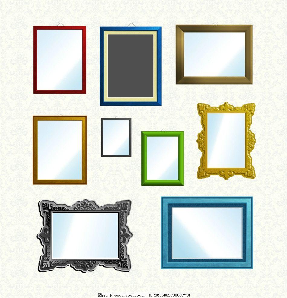 欧美相框 相框模板 欧美风格
