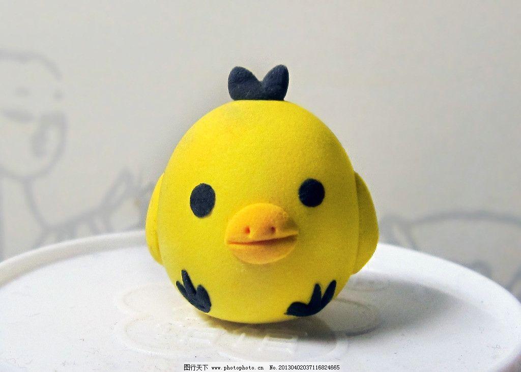 小鸟 橡皮泥 鸡蛋 鸭子 黄色 娱乐休闲 生活百科 摄影