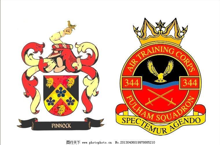 外国徽章logo 飞鹰 皇冠 国外 西方 西式 欧式 臂章 会徽
