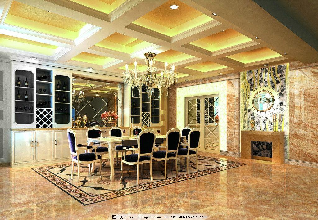 餐厅效果图 厨房 陶瓷效果图 瓷砖 地砖 室内效果图 大堂 大理石