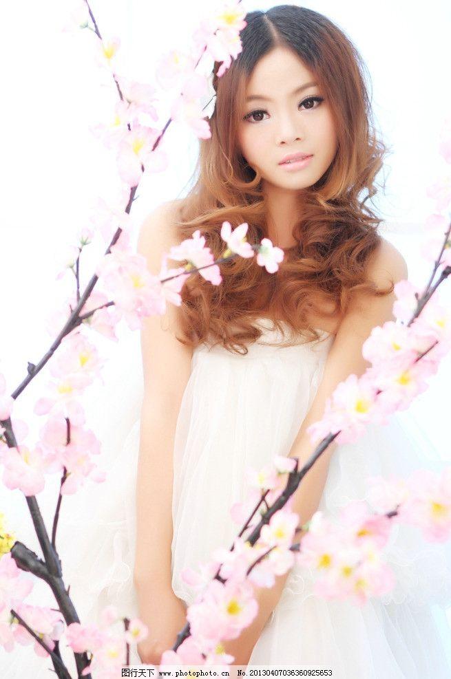 美女 可爱 小清晰 非主流美女 写真 艺术照 人物摄影 人物图库 摄影