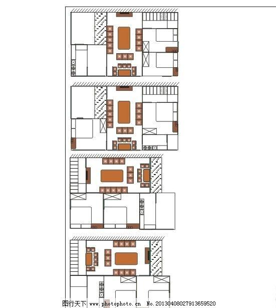 四款房屋平面设计图 房屋平面设计图