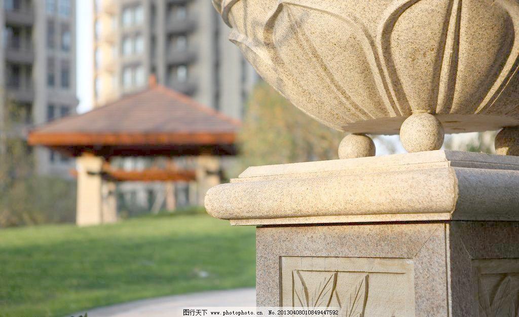 欧式园林 欧式楼群 欧式风格 石材工程 石材 花坛 欧式雕塑 园林小品