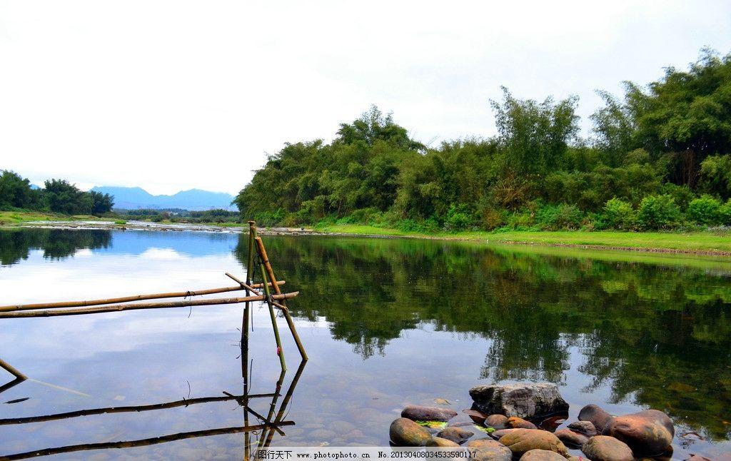 水面风景 桂林 漓江 风景 山水 风光 田园风光 自然景观 摄影 300dpi