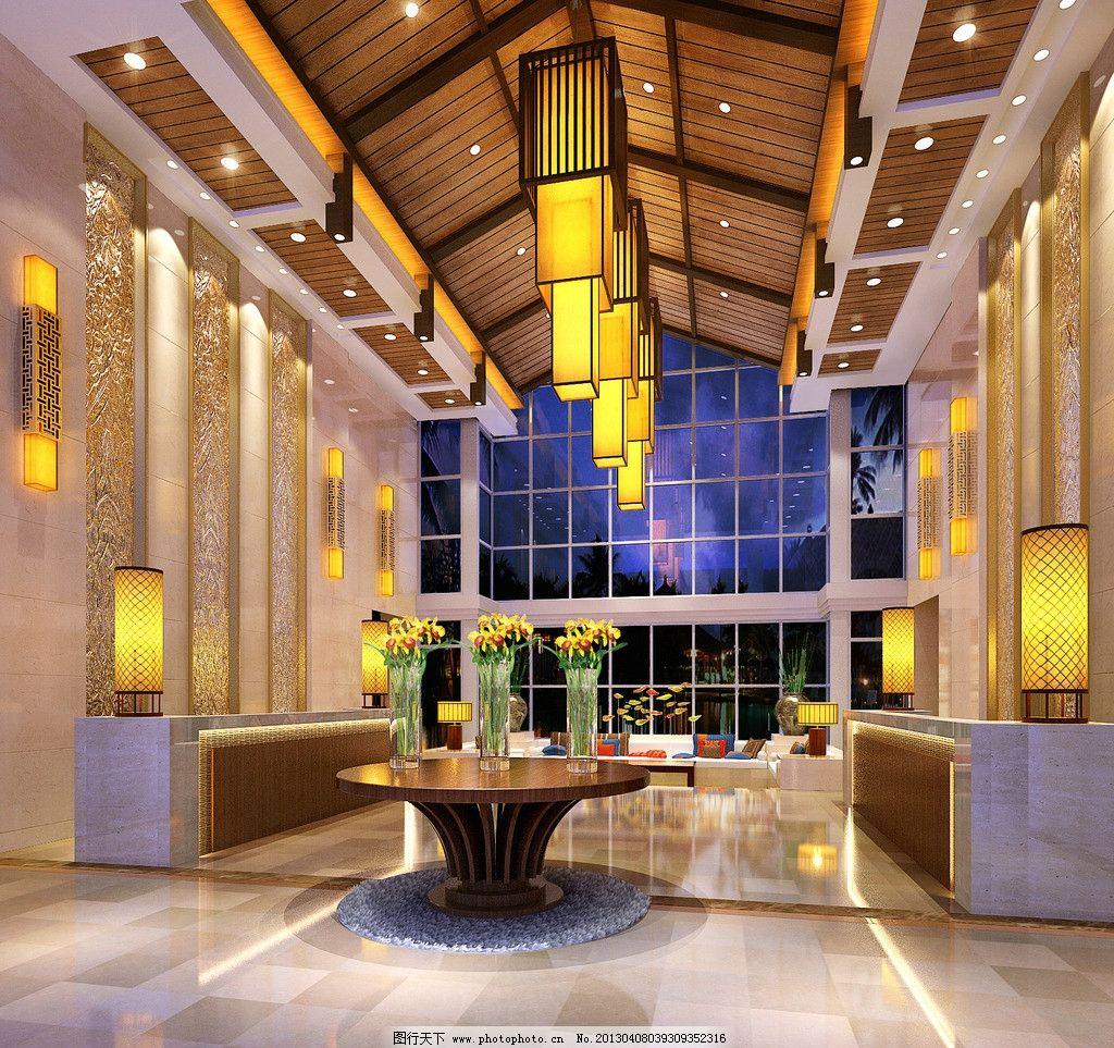 大堂局部 酒店大堂 超豪华大堂 豪华酒店 五星级酒店 七星级酒店 室内