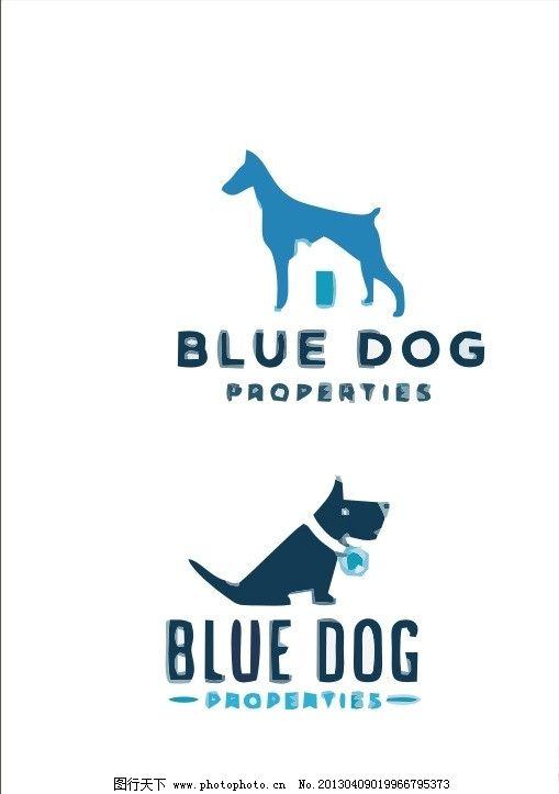 动物logo 狗 犬 动物 外国 国外 西方 西式 欧式      vi cis 视觉 创