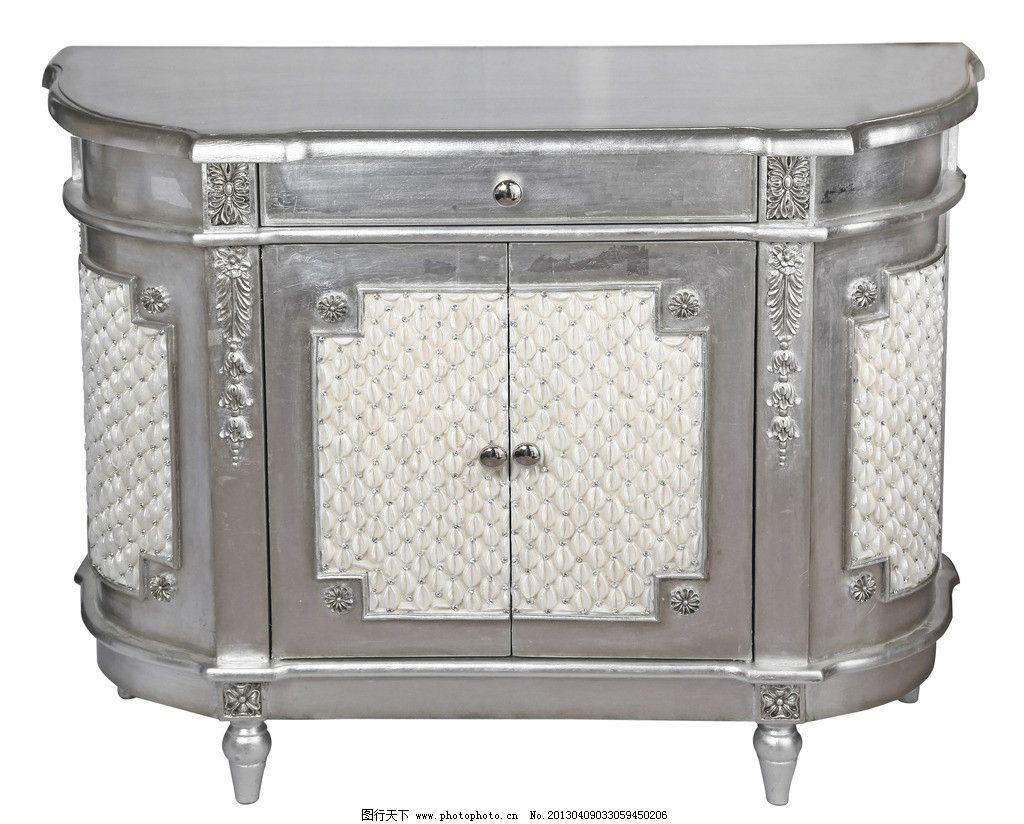 银色欧式桌子图片