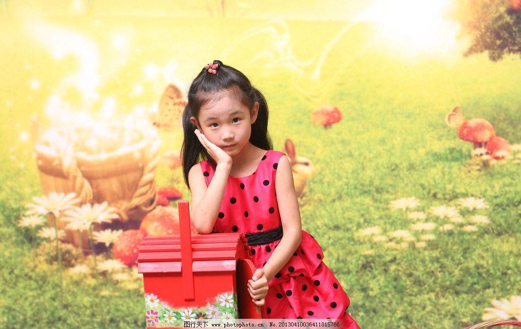 可爱女孩照片图片