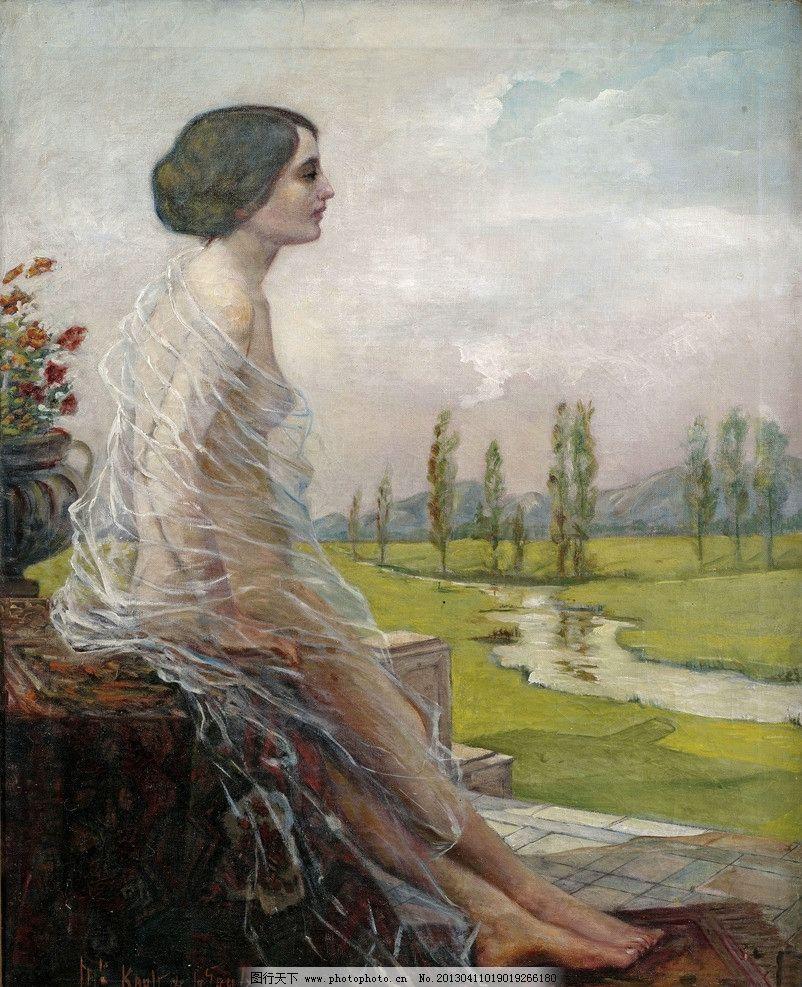 油画 油彩 绘画 色彩 美术 外国 装饰画 配画 挂画 艺术 人物 名家