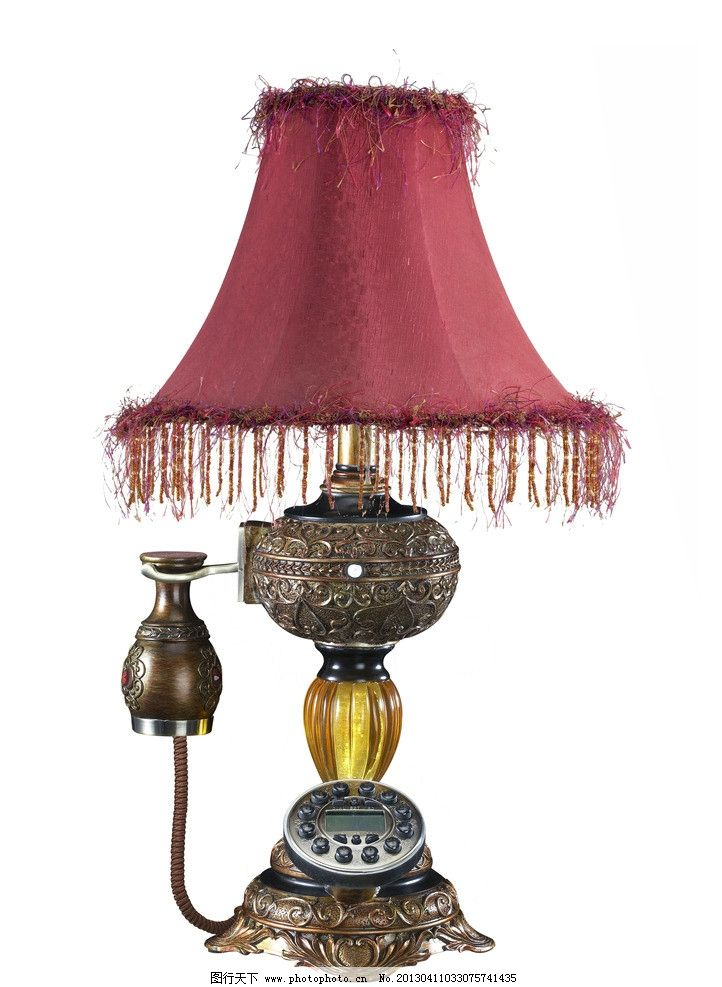 欧式创意台灯图片