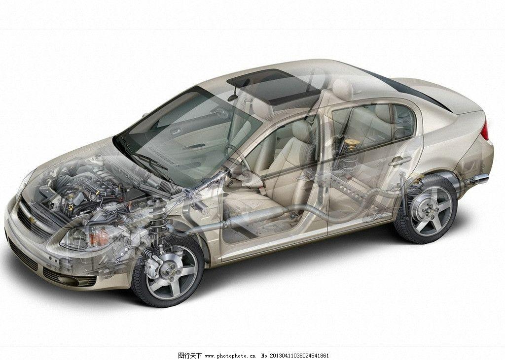 雪佛兰汽车透视图图片