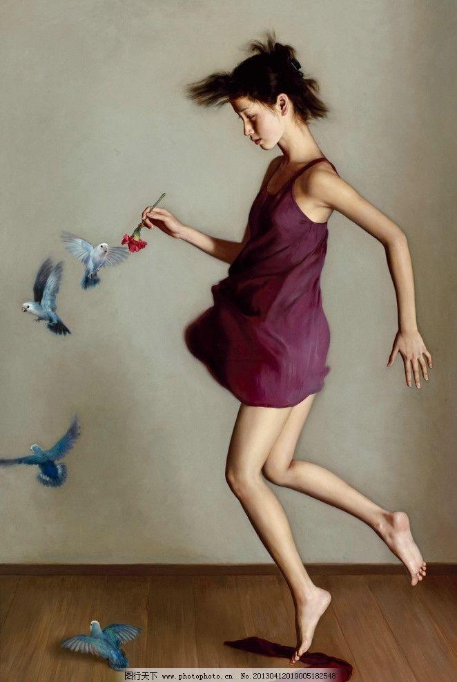 李贵君《飞》 艺术 美术 油画 当代 李贵君 绘画书法 文化艺术 设计