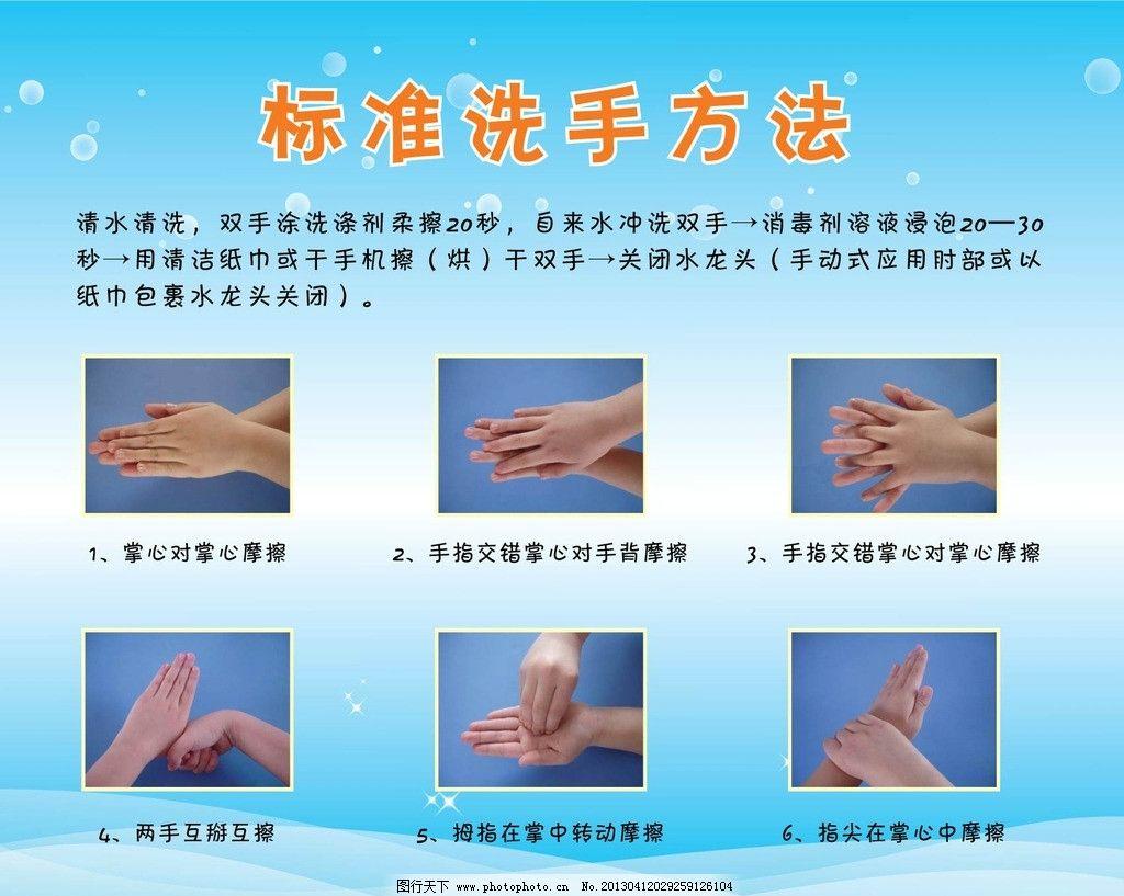 幼儿洗手三步骤