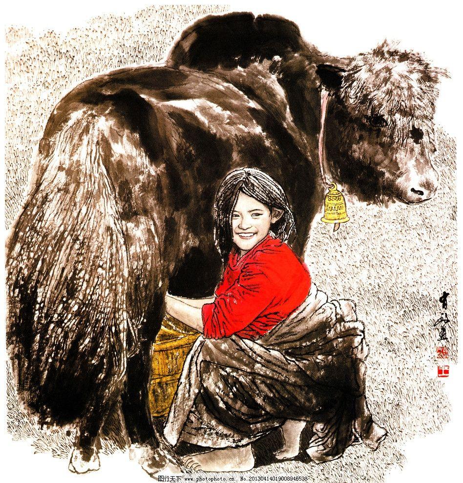 藏族绘画的动物