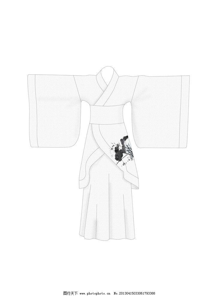 服装 古代服装 汉服 古文化 荷花 酒店服装 psd分层素材 源文件 300
