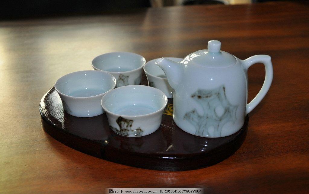 茶具 瓷器 茶壶 茶杯 水杯