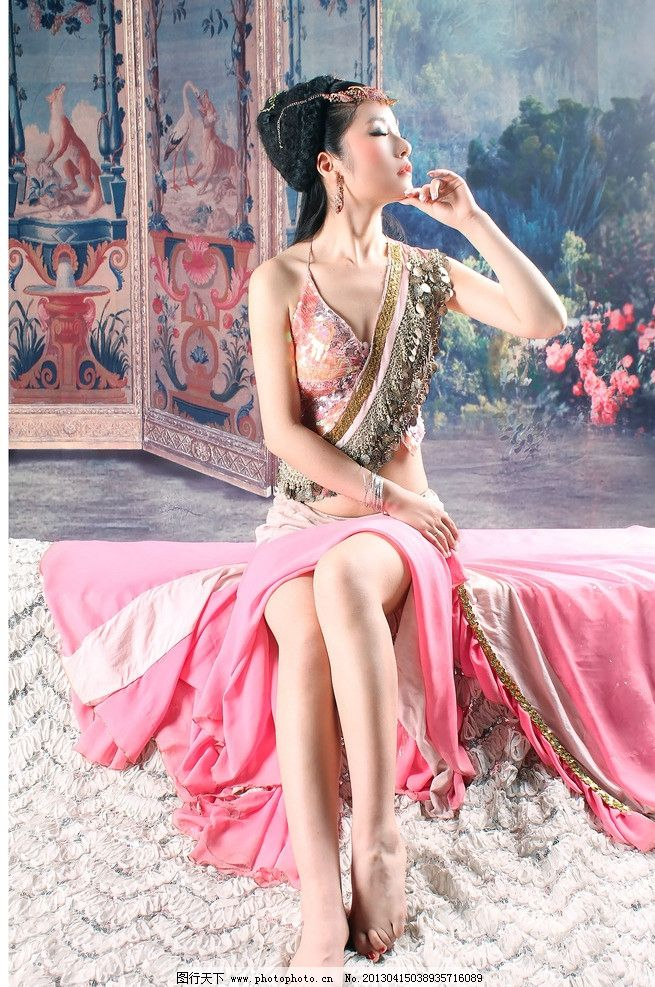 肚皮舞 美女 异域舞蹈 古装美女 绝美 舞蹈音乐 文化艺术 摄影 50dpi