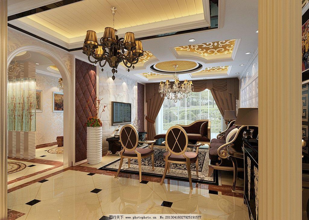 室内效果图             欧式 古典 美图 室内设计 环境设计 设计 72