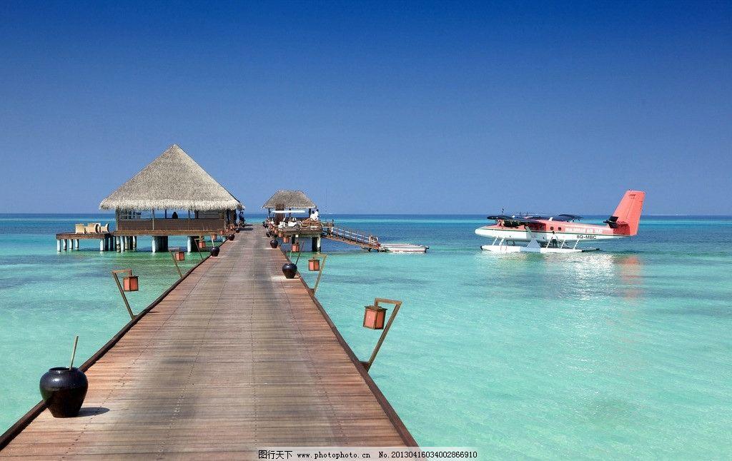 马尔代夫 海边风景图片