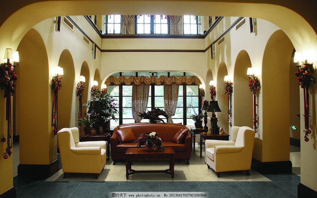 效果图 仿古 大厅 客厅
