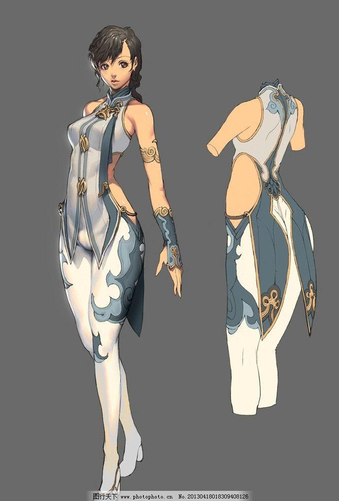 剑灵 原画 动漫 人物设计 游戏 女孩 动漫动画