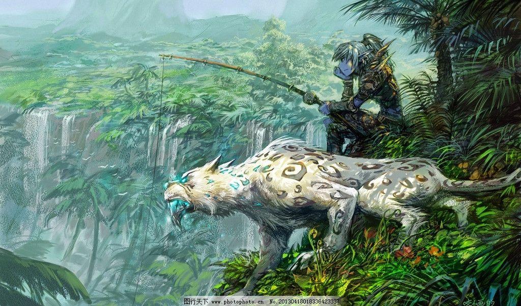 魔兽世界 原画图片