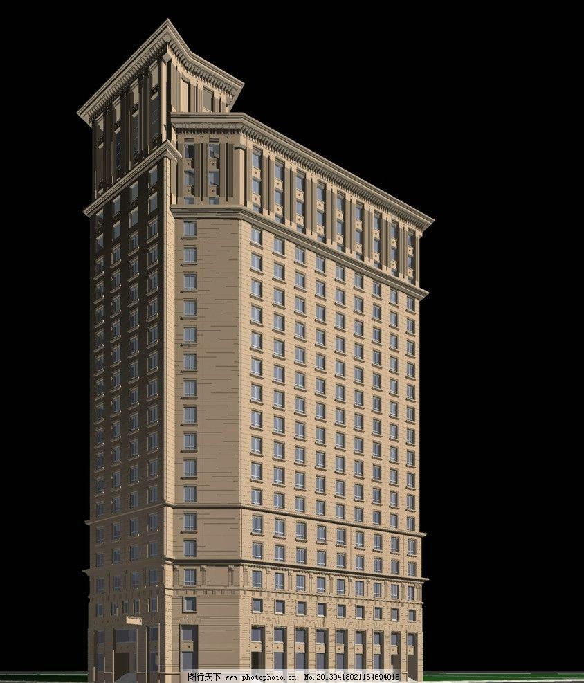 欧式建筑 多层 欧式 建筑 群楼 3d 高清 3d设计效果图 3d作品 3d设计