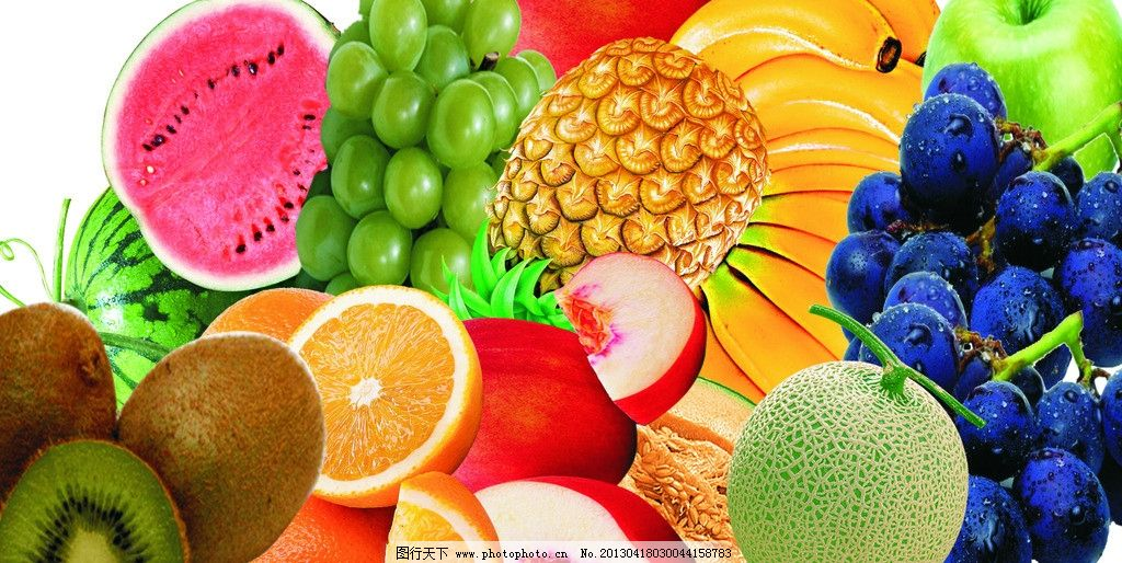用西瓜,香蕉,葡萄如何制作水果拼盘