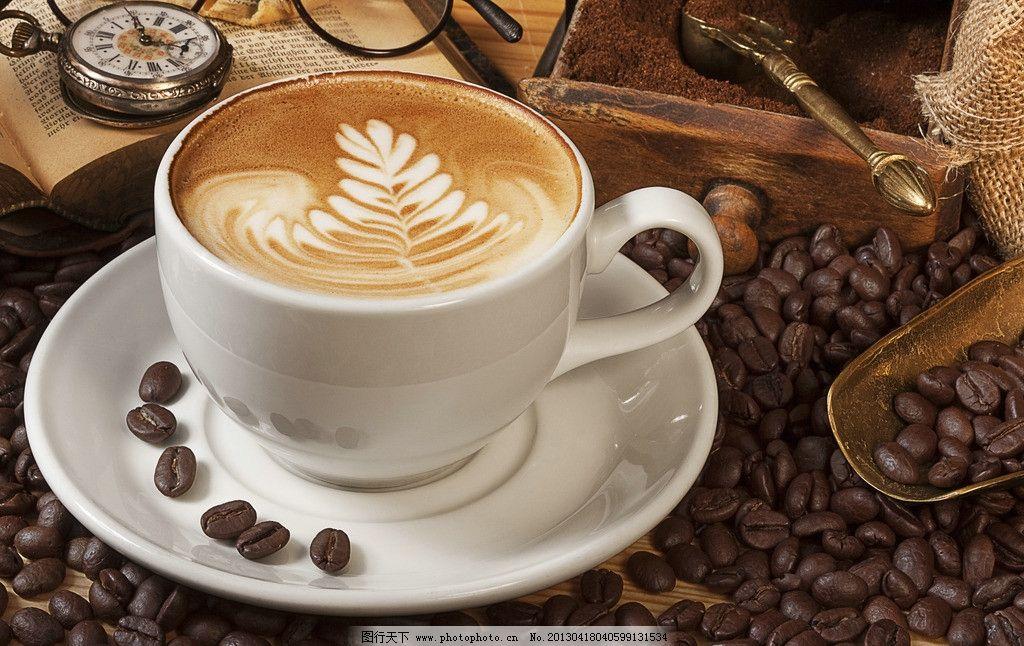 咖啡 咖啡豆 饮品 饮料 营养 健康 五谷杂粮 食物原料 传统美食