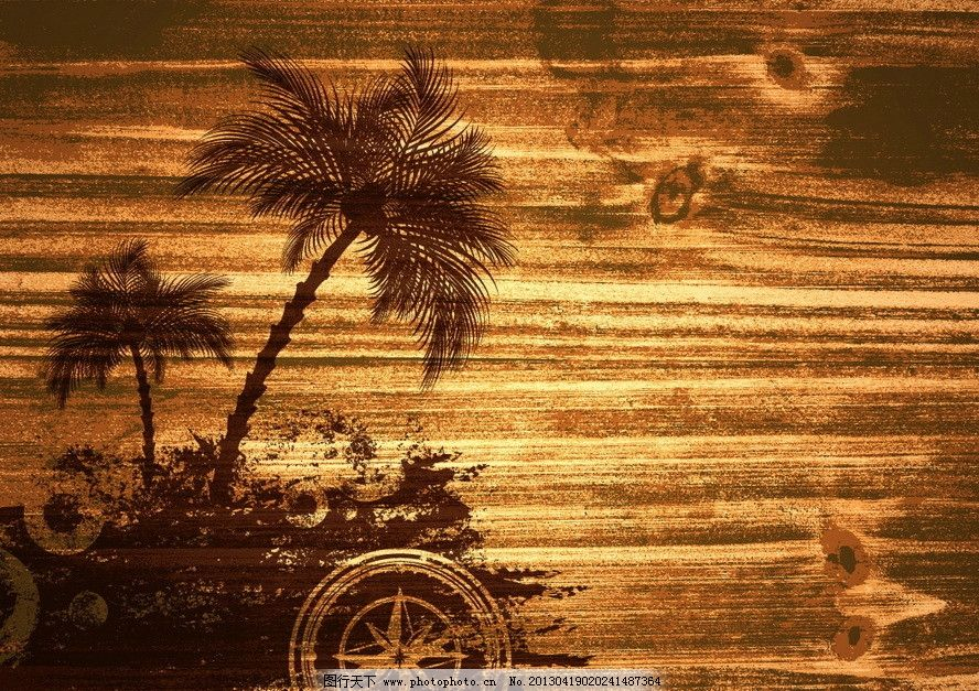 木纹夏日背景图片