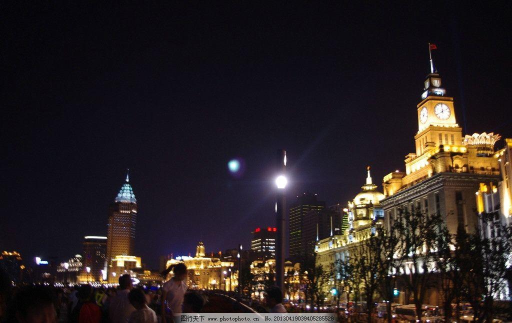 欧式建筑 夜上海 上海夜景 古建筑 城市夜景 滨江夜景观 建筑摄影