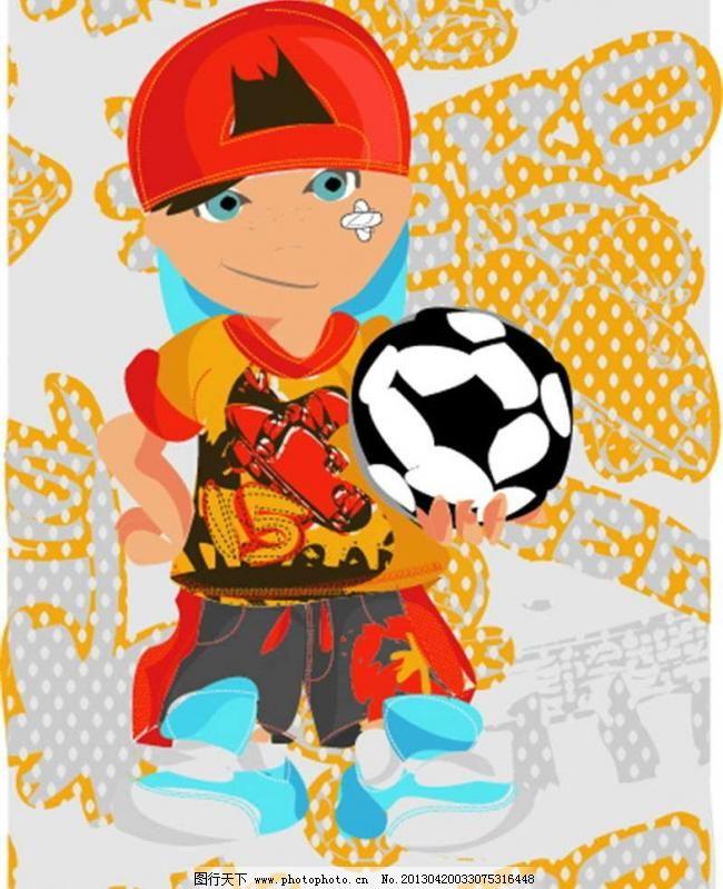 踢足球图片_其他_PSD分层_图行天下图库