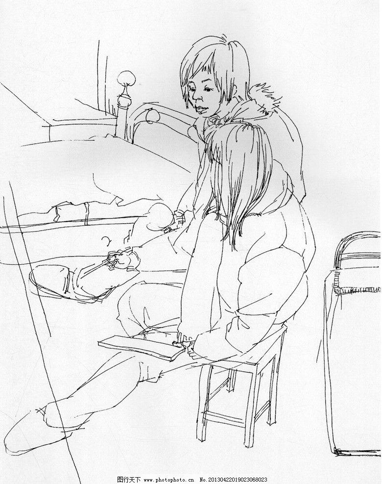 场景速写 速写 美术 艺考 美术高考 绘画书法 文化艺术 设计 300dpi j