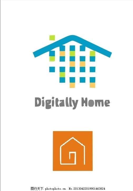 logo 房子 屋子 房屋 房地产 地产 外国 国外 西方 欧美 西式 欧式