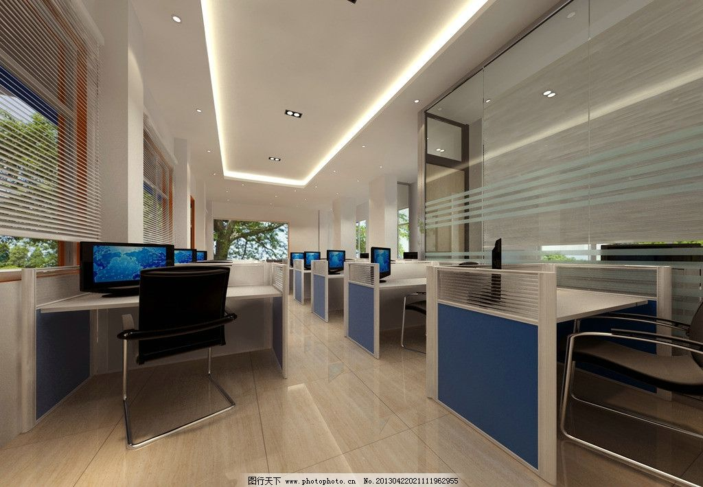 简约办公室设计 公司 办公室