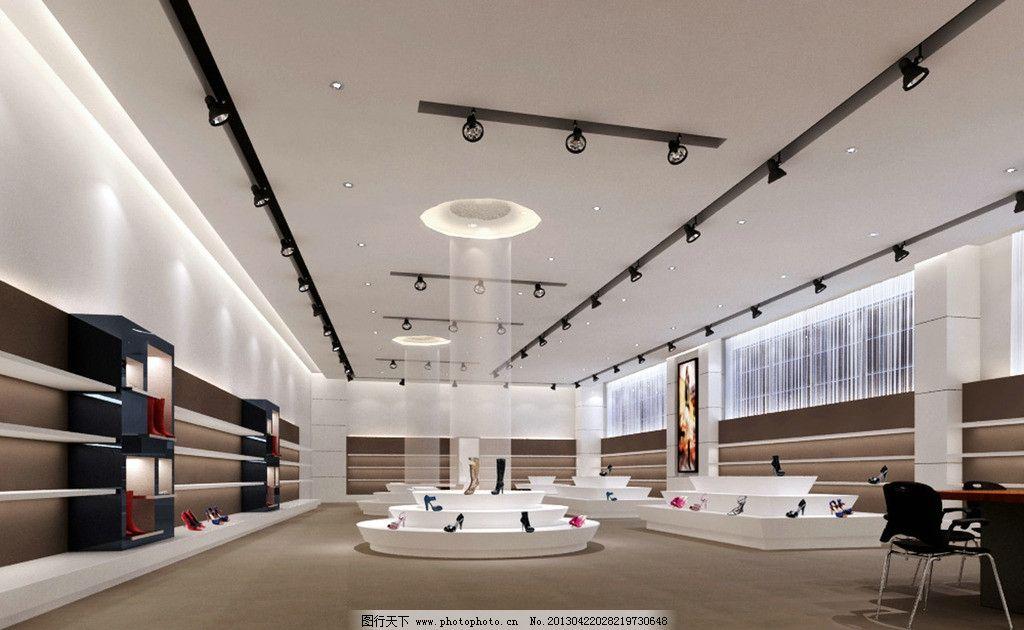 女鞋展厅 展厅 展柜        展示柜 展厅设计 商铺 专柜 展览设计