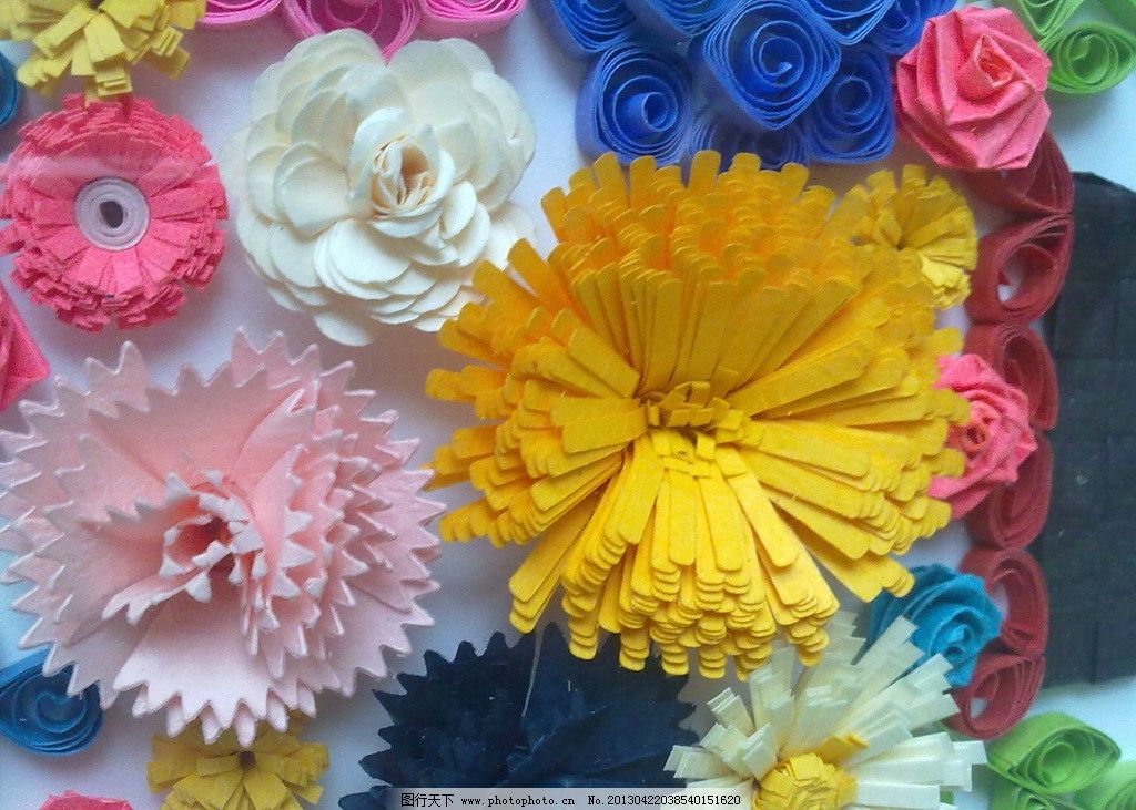 手工制作 瓶 衍纸 花 diy 花朵 传统文化 文化艺术 摄影 300dpi jpg