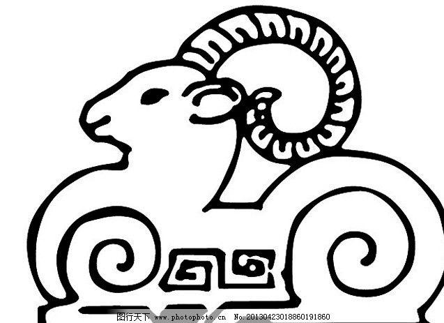 羊的简笔画 可爱