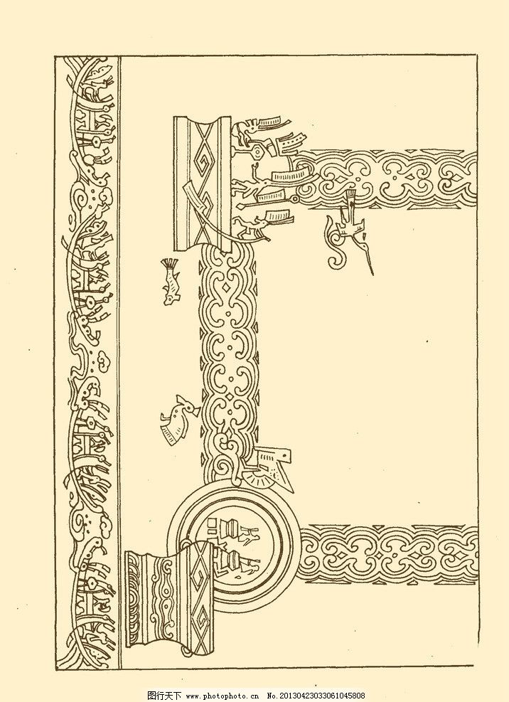 铜鼓舞乐 地毯纹样 地毯 纹样 图案 传统 花纹 花样 psd分层素材 源文