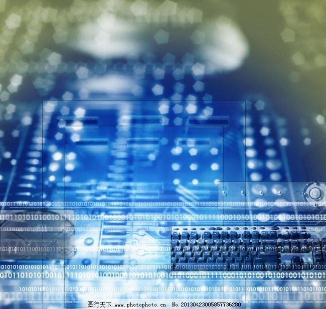 电子 电路板 线路板 蓝色 背景底纹 底纹边框 设计 300dpi     矢量图