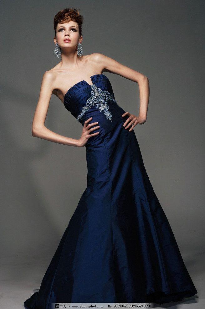 晚礼服 美女 服装 人物 衣服 人物摄影 人物图库 摄影 300dpi jpg