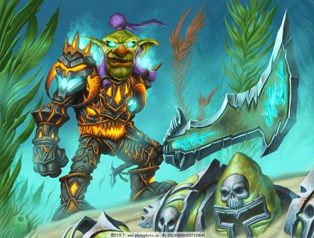 原画 原画设计素材 wow魔兽世界 角色 插图 游戏壁纸 动漫人物 动漫