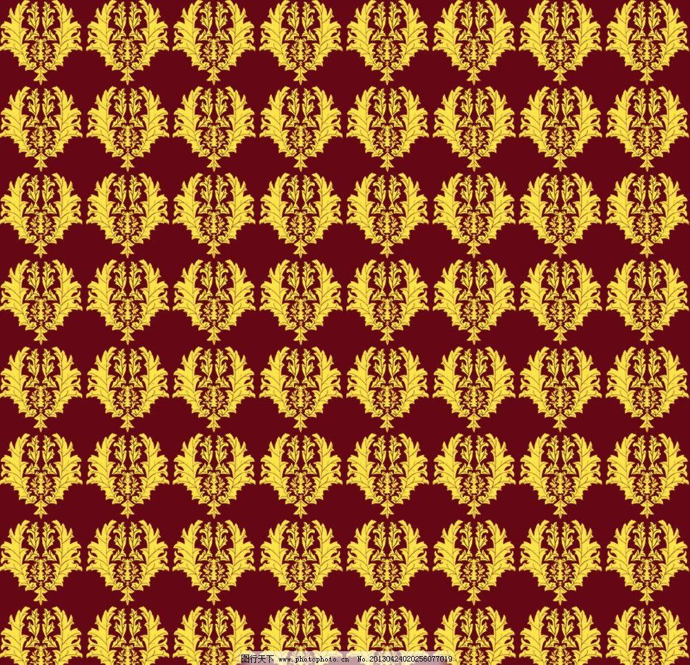 金色古典底纹 欧式 古典 底纹 背景 素材 背景底纹 底纹边框 设计 72