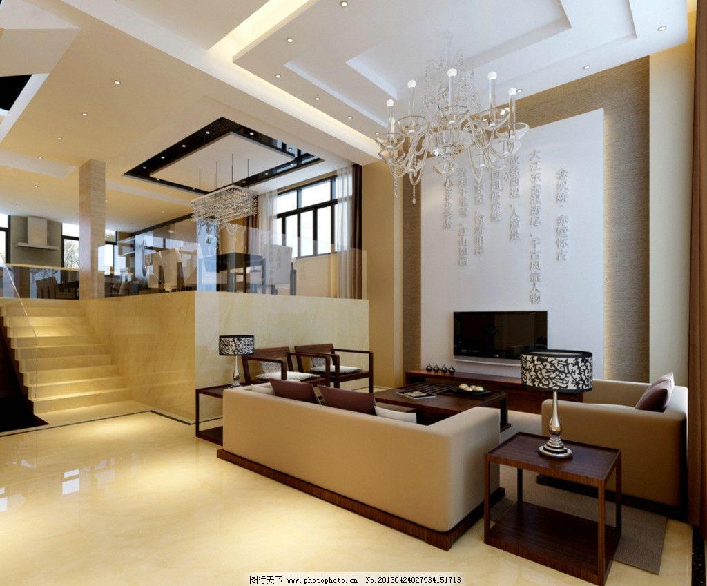 客厅图片,玻璃楼梯扶手 地毯 地板 挂画 壁纸 工艺品