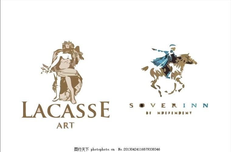 外国logo 神话 贵族 骑马 国外 西方 欧美 西式 欧式 简洁